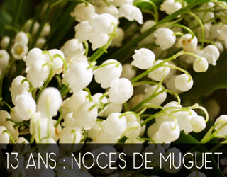 13 Ans De Mariage Noces De Muguet