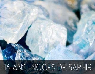 16 Ans De Mariage Noces De Saphir
