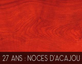 27 Ans De Mariage Noces Dacajou
